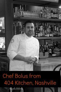 Chef Matt Bolus of the new 404 Kitchen in the Gulch