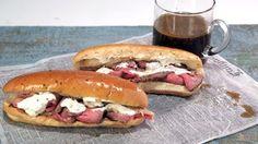French Dip Sandwich with Horseradish Sauce Recipe Recipe | The Chew - ABC.com
