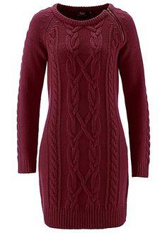 656a072e5e4 Cable Knit Jumper Dress by bpc bonprix collection