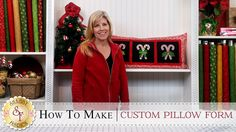 How to Make a Pillow Form | with Jennifer Bosworth of Shabby Fabrics