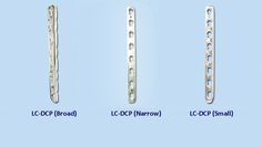 #Orthopedicimplants - #DCP is stands for Dynamic Compression plate which are available in 3 sizes: Broad, Narrow & Small.