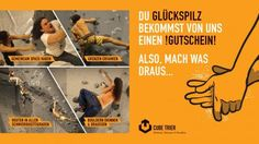 CUBE TRIER Gutschein | Kletter-Gutschein | Online-Gutschein  #Gutscheinshop #Onlinegutscheine #Gutscheine #Klettergutschein http://site.gurado.de/referenzen-kletterwald-gutscheine