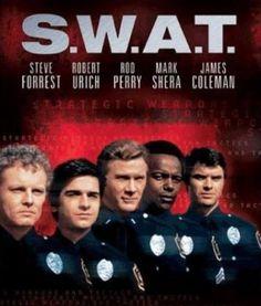 "S.W.A.T. television show.  Big blue van.  M-16 machine guns.  I loved the Sniper named ""T.J."""