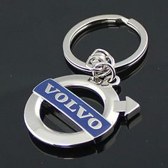 Brand Logo Leather Volvo Supreme Keychain Keyring Model Gift Box for Volvo Owners Drivers