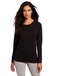 Duofold Women's Thermal Mid Weight Wicking Crew Shirt
