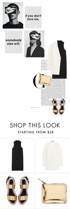 """Union"" by shayna-8 ❤ liked on Polyvore featuring Rosetta Getty, Maison Margiela, Zara, Madewell, women's clothing, women's fashion, women, female, woman and misses"