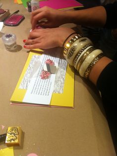A letter writing party