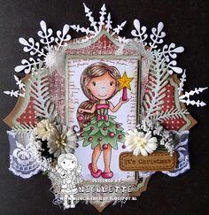 The Paper Nest: It's Christmas! DT Nicolette