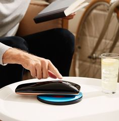 Yves Béhar Designed Smartphone Turntable