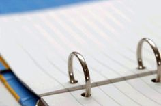 Household Notebook: use it to organize your home life.