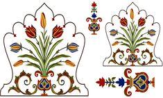 Textile Pattern Design, Pattern Art, Print Patterns, Pichwai Paintings, Mughal Paintings, Islamic Motifs, Islamic Art, Tie Dye Crafts, Painted Vases