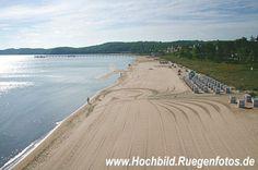 Luftbild Ostseebad Binz / Strand / Rügen / germany