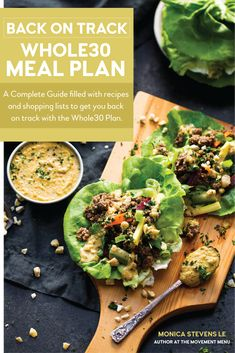 meal plan that's quick and healthy! A complete, full menu for your recipes just for you. meal planning I meal prep I Healthy paleo meals I Healthy recipes I Easy recipes I Best paleo shopping guide I The Movement Menu II Easy Whole 30 Recipes, Primal Recipes, Healthy Diet Recipes, Healthy Meals For Two, Whole Food Recipes, Easy Meals, Healthy Eating, Cooking Recipes, Whole30 Recipes