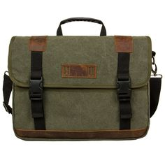 ECOSUSI Vintage 15.6-Inch Canvas Messenger Laptop Bag Cross Body Shoulder Bag ** Tried it! Love it! Click the image. : Christmas Luggage and Travel Gear