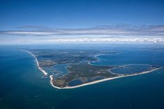 Nantucket Island From Above