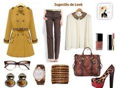 Kiria Fashion: Sugestão de um Look formal e clássico