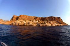 Monemvasia Greece .