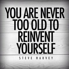 You are never too old to reinvent yourself. http://www.mannyyoung.co.uk/