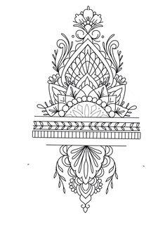 best 11 rose diamond and mandala tattoo design laurenceveillx skillofking com 729935052088756811 Tattoo Mandala Feminina, Mandala Tattoo Sleeve, Mandala Tattoo Design, Tattoo Designs, Henna Tattoos, New Tattoos, Tattoos For Guys, Xoil Tattoos, Octopus Tattoos
