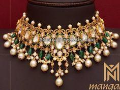 Kundan Polki Sets By Mangatrai Indian Jewelry Sets, Indian Wedding Jewelry, Bridal Jewelry Sets, Indian Accessories, Bridal Jewellery, Buy Jewellery Online, Jewelry Shop, Gold Jewellery Design, Gold Jewelry
