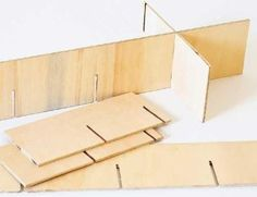 DIY drawer divider.  YEAH - craft room