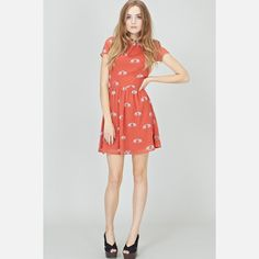 Ellie Love Dress Coral