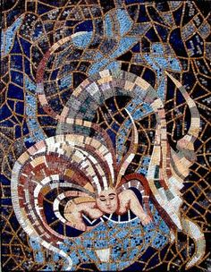 """36x48"""" Mermaid Marble Mosaic Stone Art Tile Pool Bath by mozaico. $667.00. Mosaics have endless uses and infinite possibilities! They can be used indoors or outdoors, be part of your kitchen, decorate your bathroom and the bottom of your pools, cover walls and ceilings, or serve as frames for mirrors and paintings."""