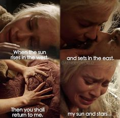 Khaleesi and Khal Drogo Game Of Thrones Show, Game Of Thrones Quotes, Valar Dohaeris, Valar Morghulis, Khal Drogo, Khal And Khaleesi, Game Of Thones, My Sun And Stars, Prison Break
