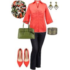 """""""""""Bring on Spring"""" Plus Size Outfit"""" by penny-martin on Polyvore"""