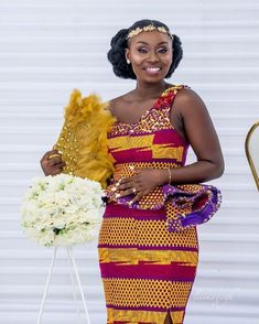 For the beautiful african ladies who want to step up this weekend check below for the beautiful ankara skirt and blouse styles for an amazing look through out African Wear Dresses, African Wedding Dress, Latest African Fashion Dresses, African Attire, African Outfits, African Weddings, African Men, African Style, African Print Clothing