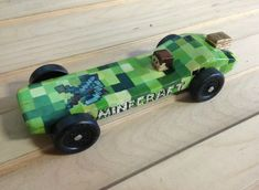 Minecraft Car Designs in the Pinewood Derby Tiger Scouts, Cub Scouts, Girl Scouts, Scout Activities, Activities For Kids, Minecraft Car, Boys Life Magazine, Scout Mom, Scouts