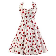 Red Cherries Floral 1950s Inspired Halter Neck Rockabilly... https://www.amazon.co.uk/dp/B017ABO8NQ/ref=cm_sw_r_pi_dp_osfkxbC6FZT6N