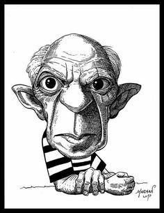 Caricatura de Pablo Picasso Pablo Picasso Caricature