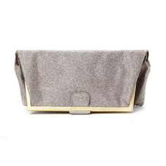 Teodora by Milan-based atelier FedoraMi is pure indulgence! https://www.theitaliancollection.com/product/teodora-clutch-in-gold-glitter/