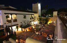 Patio Andaluz. Summer Nights at Puente Romano Beach Resort Marbella.   #PuenteRomano