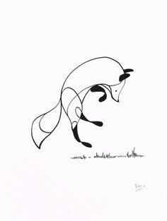 Original One-off Pen & Ink Drawings by Ben The Illustrator – Fubiz™