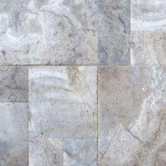 Travertine Tile in Honed Gray