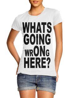 """""""whats going wrONg here!"""" das ist die frage... neues shirt im shop www.vintage-massacre.de"""