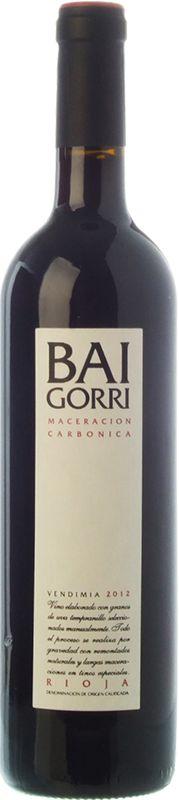Baigorri Maceración Carbónica 2012 Vino tinto joven DO Ca Rioja Bodegas Baigorri Tempranillo 13.5º