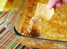 Texas Trash Warm Bean Dip ~ YUM