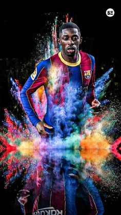 #barce# #barcelona# #football# #bóng đá# #thể thao# #laliga# #uefa# #art# #stlye# #wallpaper# #hình đẹp# #soi kèo# #Dembélé# Fc Barcelona, Messi, Football, Leo, Movie Posters, Fictional Characters, Football Team, Football Pictures, Backgrounds