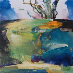 Painter's Process - Randall David Tipton  New Season 2  watermedia on yupo 12x12