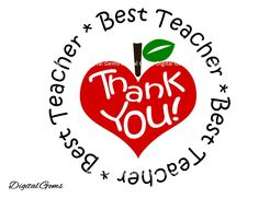 Best Teacher Thank You Teacher SVG Cutting File For Cricut Design Space, Instant… Teachers Day Card, Teacher Cards, Happy Teachers Day, Teacher Thank You, Teacher Quotes, Your Teacher, Best Teacher, Teacher Gifts, Appreciation Quotes