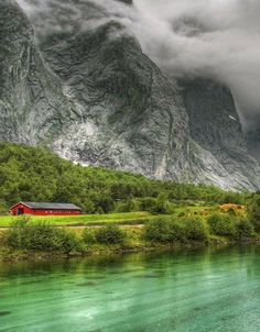 Gudvangen, Norway: