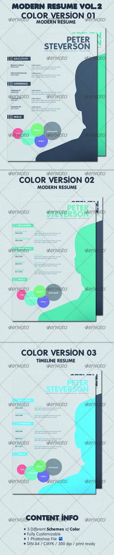 Modern Resume V1 Modern resume, Cv design and Print templates - modern resume styles