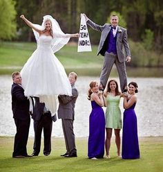 Would you do this? #cheer #wedding #cheerpassion @kfoxx24