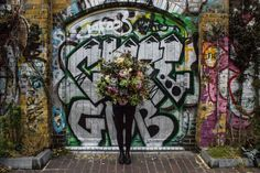"""Big is certainly beautiful. Whether it's an anniversary, a milestone  birthday, or an """"I'm SO sorry"""" moment, this bouquet - so large you can  hardly see for flowers - is sure to do the trick (legs are not included).  The bouquet pictured here is a large.  Our flowers are fresh and se"""