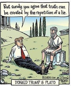 That's how Trump's mind works