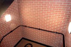 GRP Brick Effect Interior Cladding Panels