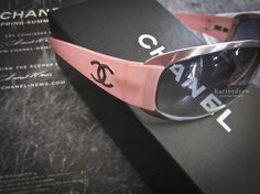 shop-my-closet | Pink Titanium Chanel Sunglasses | Girlie yet Sporty